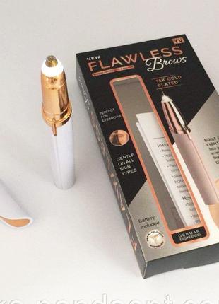Женский триммер депилятор для бровей Finishing Flawless Brows