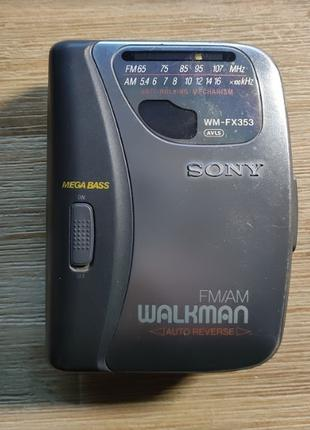 Sony Walkman WM-FX353 Mega Bass