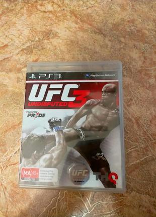 UFC3 Undisputed ps3