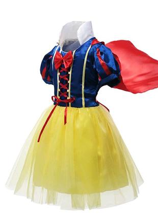Платье Белоснежка с обручем р.100