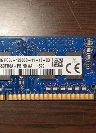 Продам модуль памяти SK hynix so dimm ddr3 2GB 1600