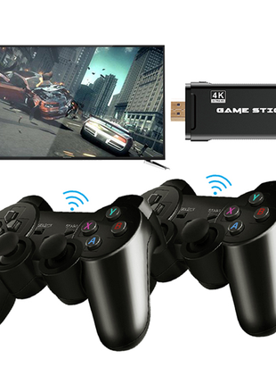 Классическая игровая консоль  4K HD, 64 ГБ, 10000 ретро игр