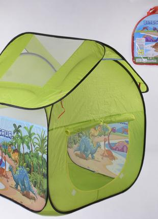 Дитяча ігрова палатка 8009 KL Дінозаври розмір 100х83х83 см