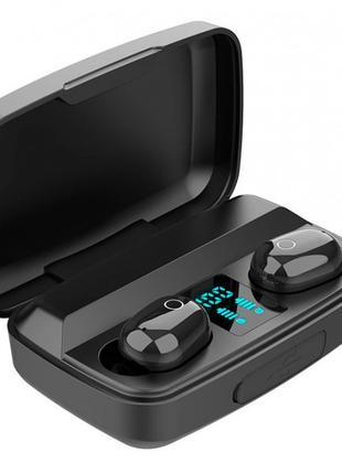 Bluetooth стерео наушники беспроводные c боксом для зарядки Air J