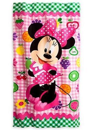 Disney mini mouse полотенце