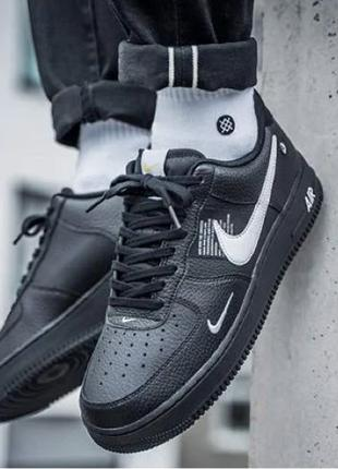 "Кроссовки Nike Air Force 1 Utility ""Black"""