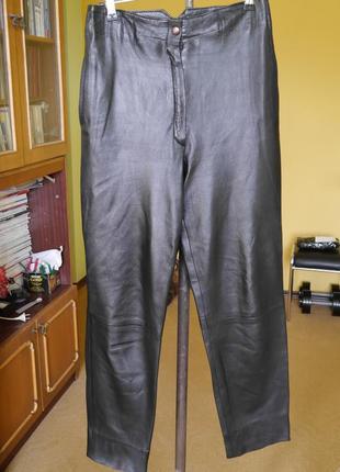 Брюки-штани шкіряні на 34 євро розмр rafael
