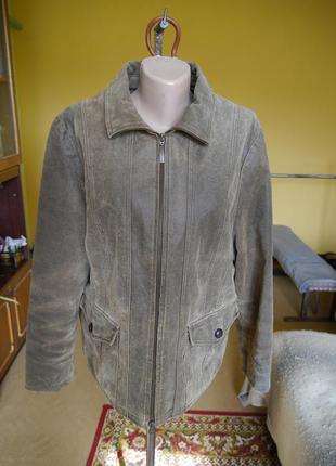 Куртка шкіряна на розмір xxl human nature