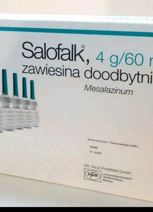 Салофальк salofalk mesalazinum месалазин