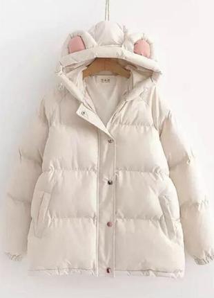 Женская куртка с ушками