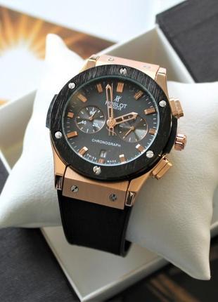 Мужские наручные часы big bang black&bronze