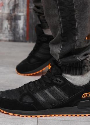 Кроссовки мужские 18163 ► adidas zx 750, черные
