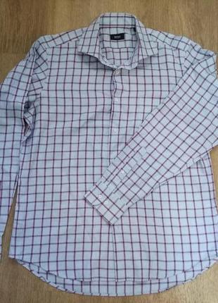 Рубашка hugo boss 100% коттон