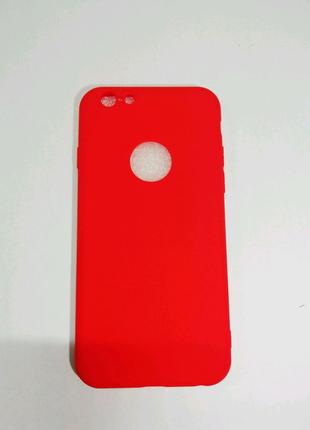 Мягкий Силиконовый Чехол Для IPhone 6.