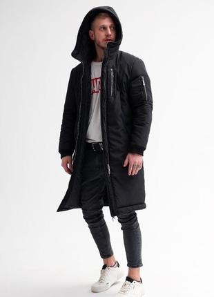 Мужская зимняя парка (куртка)