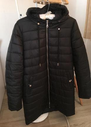 Удлиненная женская куртка пальто house размер м