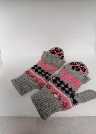 Варежки, перчатки. 8-8,5