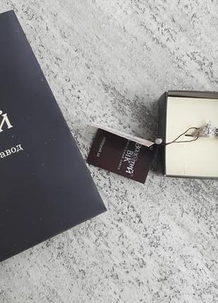 Новое серебряное кольцо колечко корона серебряный век 925 проб...