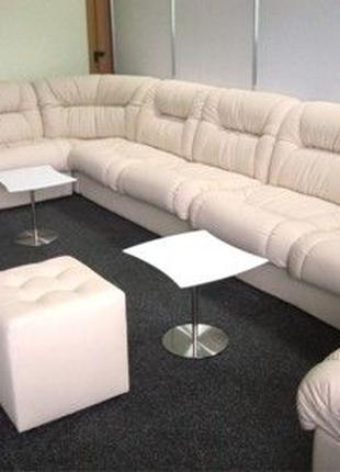 Офисный диван, диван для офиса Визит угловой