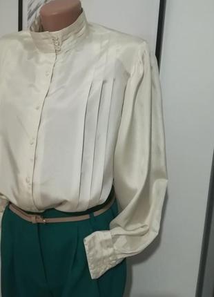 Lady jane/жемчужная блуза в викторианском стиле,рукава буфы/ви...
