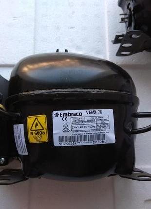 Инверторный компрессор Embraco VEMX 7c 230V - 40 TO 150Hz R 600a