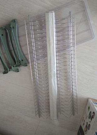 Сушка для посуды 700мм с рамкой хром