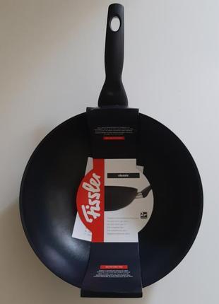 Сковорода-вок антипригарная 28см.т.м.fissler