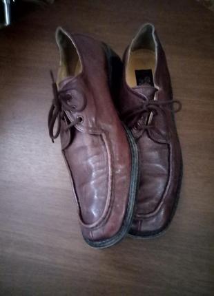 Туфли 47 размер кожа/manz/