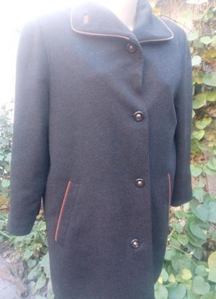 Пальто 48-50 англия /шерсть/винтаж.