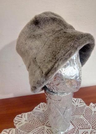 Шляпа -шапка искусственный мех 56-58