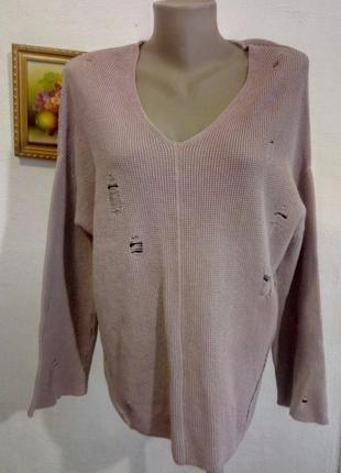 Стильный пуловер 46-48