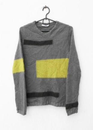Осенний зимний 63% мохеровый свитер с длинным рукавом 🌿