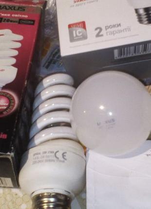 Красивая лампа светильник Maxus 20w есть и Led E27 мягкий днев...