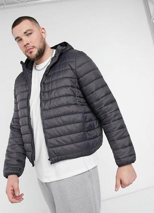 Демисезонная мужская куртка большого размера new look