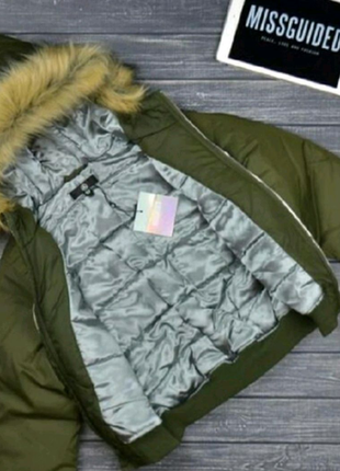 Модная дутая куртка от missguided🔝🔝🔝