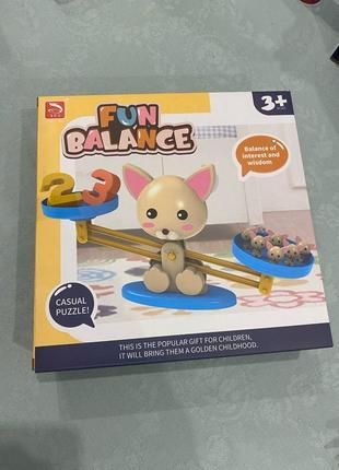 Детская обучающая настольная игра Fun balance