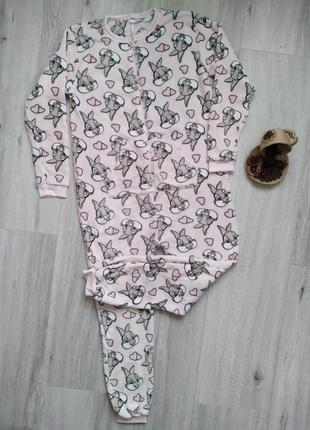Кигуруми домашний комбинезон, слип пижама, одежда для дома и с...