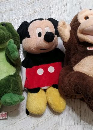 Мягкие игрушки на руку