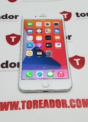 Apple iPhone 8 plus 64gb Silver R-sim 290$ 7/8/X/XR/11 Max/XS/...