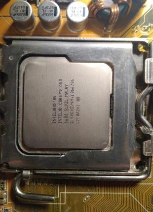 Intel Core 2 Duo E6600 CPU 2.4G Processor ( 2.4Ghz / 4M /1066G...