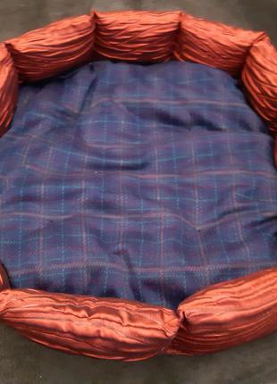Лежанка лежак ліжко ліжечко для кошек и собак размер 60×60см