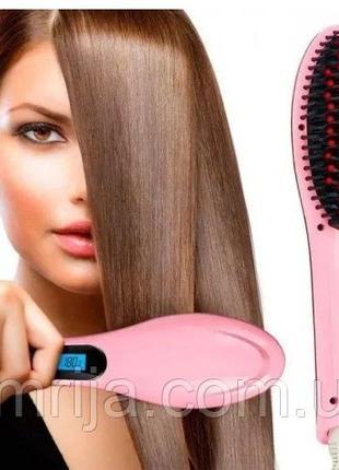 Электрическая расческа-выпрямитель FAST HAIR STRAIGHTENER HQT-...