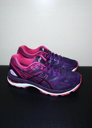 Оригинал  asics gel nimbus 19 женские кроссовки для бега беговые