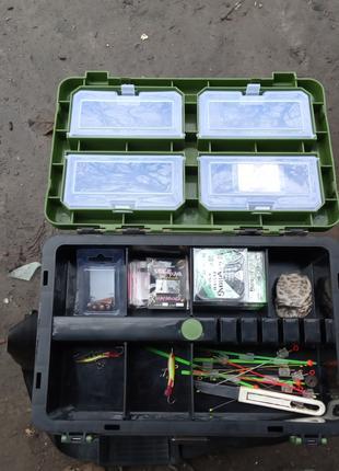 Ящик для зимней рыбалки бур диаметр 150.