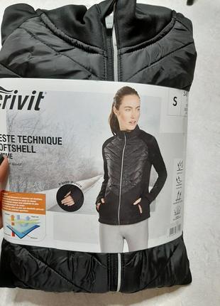 Женская куртка софтшелл crivit