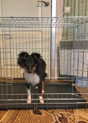 Италия CROCI клетка для собак №4, 78х55х62h переноска манеж бокс