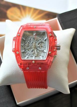 Мужские наручные часы Hublot Big Bang Quartz Unico Sapphire Red