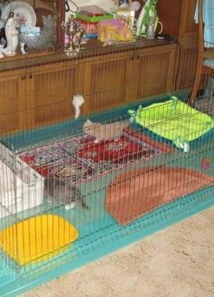 Манеж, вольер, клетка для собак, щенков, кошек, котят 200х100х60