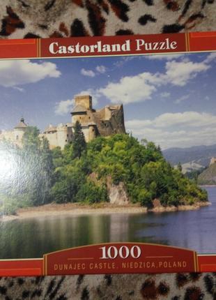 Пазл 1000 элементов 68х47см замок река природа горы Польша Castor