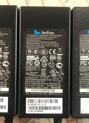 Блок питания VeriFone 9.3V 4A P/N PWR258-001-01-A